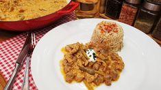 Sertésszűz Stroganoff módon   / Szoky konyhája  / Rice, Chicken, Meat, Youtube, Food, Essen, Meals, Youtubers, Yemek