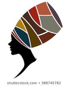 illustration of African women silhouette fashion models on white background Fashion Silhouette, Silhouette Images, Woman Silhouette, African Drawings, African Art Paintings, Black Women Art, Black Art, White Women, Art Pop