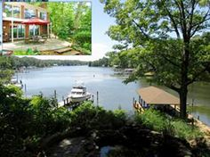 Fantastic waterfront home w/ ... beautiful views of Mill Creek! Four bedrooms,  2 1/2 baths, open kitchen-living rm w/views!. Lifestyle comforts and upgrades on both levels flow right outside onto a stone patio.Trex deck w/pergola, outdoor kitchen and fire pit designed for entertaining.Quick walk to covered boat house w/lift & jet ski dock. Summer boating & fun await your arrival! It's a must see!...