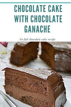 Eggless Chocolate Cake, Chocolate Sweets, Chocolate Recipes, Cake Icing, Cupcake Cakes, Cupcakes, Sweets Recipes, Cake Recipes, Death By Chocolate