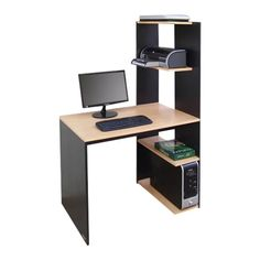 puesto de trabajo platinum 410 escritorio mesa pc biblioteca