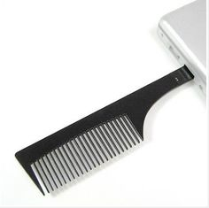 Comb-shaped USB. This will be the downfall of our species. Comb USB. Sweet potato USB. Baby's first USB. Eventually, they take over and everything becomes USBs.