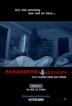Image result for paranormal activity 4 cinema poster