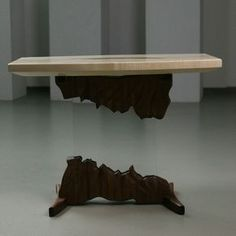 Floating coffee table. With epoxy top. Go check out my latest video to see how it was made. Link in Bio Big thanks to @toolsconsumables.com_tools for providing sawblade for this awesome project. Check their Web store for affordable cutting tools. #woodworking #table #coffetables #furnituredesign #housedecoration #custum #floatin #floatingtable #acrylics #unique #design #designing #epoxy #epoxyresin #videos #woodwork #woodworker #livingroom #livingroomdecore #slovenija