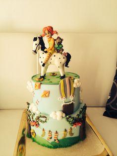Pippi calzelunghe cake