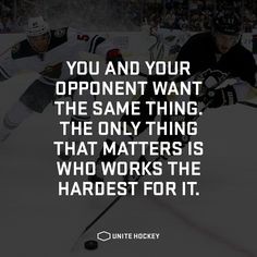 The only thing that matters is who works the hardest for it. #quote…