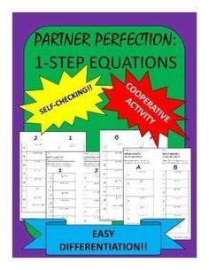Differentiated, Self-checking Partner Activity?! Yes!