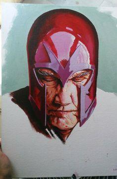 Magneto . by Jay Thakur, via Behance