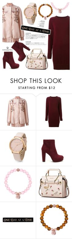 """One day at a time!"" by christianpaul ❤ liked on Polyvore featuring STELLA McCARTNEY, Maison Margiela, DutchCrafters and contemporary"