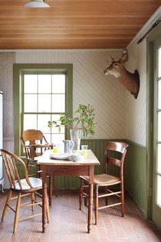 These rooms will leave you green with envy.