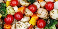 Lun grønnsak- og potetsalat