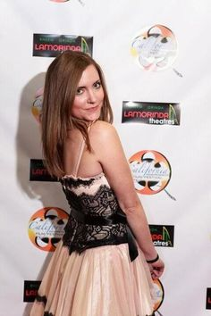 Out on the red carpet at the California Independent Film Festival.