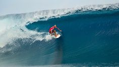 #surfing Owen Wright at the Billabong Pro Tahiti