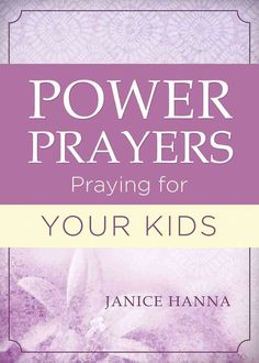 Prayer opens worlds of possibilitiesbut many people still struggle to pray. Power Prayers: Praying for Your Kids will help you pray, by offering solid biblical reasons to talk to God and specific pray