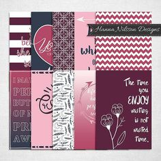 Digital planner dashboard/dividers A5 size - beautiful prints for your filofax or other planner - digital instant download