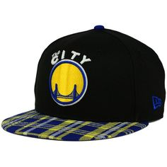 893d7b14111 New Era Golden State Warriors Plaid 9FIFTY Snapback Cap ( 20) ❤ liked on  Polyvore