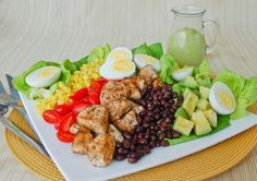 Meals, Heels, and Cocktails: Mexican Chicken Cobb Salad
