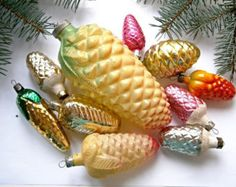 antique christmas ornaments – Etsy CA