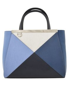 #Fendi color block bag on www.italist.com top brands shopping worldwide shipping #italistofficial
