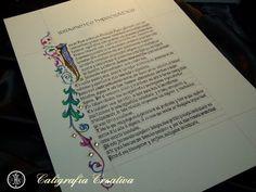 Juramento Hipocrático caligrafiado.
