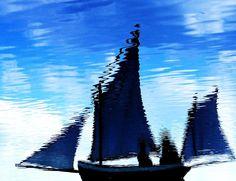 Sailing Reflections - ©Eric Schiabor (via FineArtAmerica)