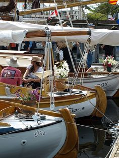 Wooden Boat Festival in Port Townsend, Washington