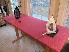 How to Convert a Regular Ironing Board Into a Quilter's Ironing ... : quilting ironing board cover - Adamdwight.com