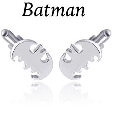 These are a unique pair of men's Cuff Links. They are silverin appearance, anddisplays the Batman logo.Makes a great gift idea! 🎁    cufflink size is 20mm x 20mm        This item ships immediately to US addresses. 📦 Also available for local pick up in Sacramento, CA for known Customers. | Shop this product here: http://spreesy.com/UyleesBoutique/1203 | Shop all of our products at http://spreesy.com/UyleesBoutique    | Pinterest selling powered by Spreesy.com
