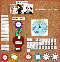 Preschool Special Education, Class Decoration, Summer School, Classroom Organization, Kindergarten, Calendar, Reception, Drawings, Blog
