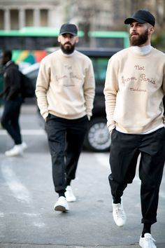 men's street style outfits for cool guys Cool Street Fashion, Paris Fashion, Street Style, Stylish Men, Men Casual, Stil Inspiration, Mode Masculine, Look Man, Best Mens Fashion