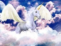 Blue Sky Pegasus - Download From Over 66 Million High Quality Stock Photos, Images, Vectors. Sign up for FREE today. Image: 12628019