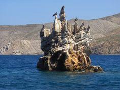 Parque Nacional Mochima formación geológica  http://buce-ando.blogspot.com/2011/10/el-try-scuba-de-los-compadres.html
