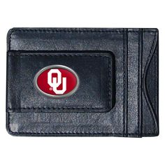 NCAA Oklahoma Sooners Money Clip and Cardholder, Men's