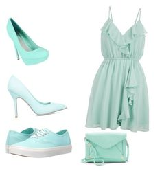 """""""Which shoes message me 1,2,3"""" by sgcboss ❤ liked on Polyvore featuring New Look, ShoeDazzle, Vans and Apt. 9"""