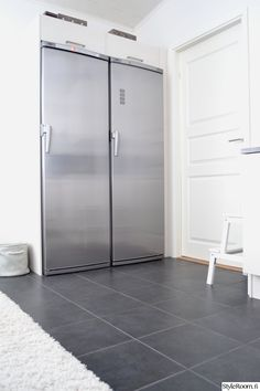 kodinkoneet,jääkaappi,metallinen,moderni,keittiö,skandinaavinen