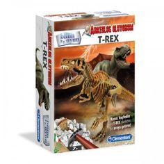 En korkutucu tarih öncesi yırtıcı Kazın, keşfedin ve hayret verici iskeleti birleştirin.  Resimli kullanım kılavuzunda, yeryüzünde yaşamın evrim sırasını gösteren muhteşem bir poster bulunuyor.