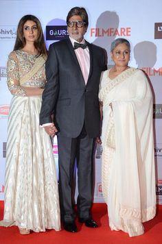 Shweta Bachchan Nanda, Amitabh Bachchan & Jaya Bachchan