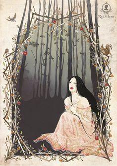 Snow White by ~RedSelena on deviantART