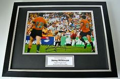 Jonny #wilkinson signed framed #photo autograph 16x12 display #rugby world cup 20,  View more on the LINK: http://www.zeppy.io/product/gb/2/381406155867/