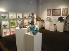 glass art gallery - Google Search