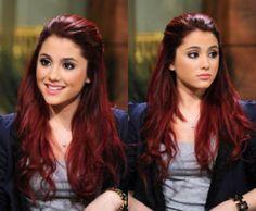 Dark red hair <3