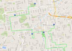 Il mio itinerario a piedi di 3 giorni a San Francisco - Giorno 2 - Mission, Castro, Haight-Ashbury, Painted Ladies, Marina e Golden Gate Bridge