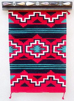 Native American wall hanging.