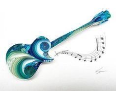 Tubulares de papel de arte: la música es la voz del alma