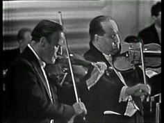 Yehudi Menuhin & David Oistrakh - Bach Double Violin Concerto in D minor - BWV 1043 - Vivace
