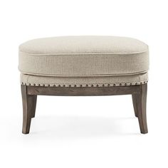 """Portsmouth 29"""" Upholstered Ottoman in 8402 Natural"""