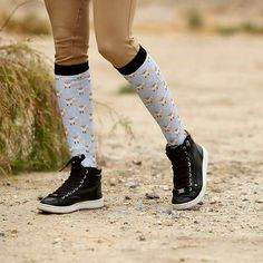 "a6826d754a Horse & Style Magazine on Instagram: ""We think you'll love May's giveaway -  and just in time for show season! Sponsored by @dreamersnschemerssocks,  they are ..."