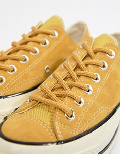 cheap for discount 0c798 f296d Converse Chuck 70 Base Camp ox suede yellow sneakers