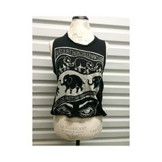 Brandy Melville Elephants Tank In great condition !  Very rare Brandy Melville Tops Muscle Tees