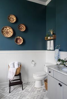 adding dark green bathroom interior tiles to your bathroom 1 Bad Inspiration, Bathroom Inspiration, Bathroom Ideas, Bathroom Photos, Budget Bathroom, Bathroom Renovations, New Orleans Homes, Upstairs Bathrooms, Teal Bathrooms